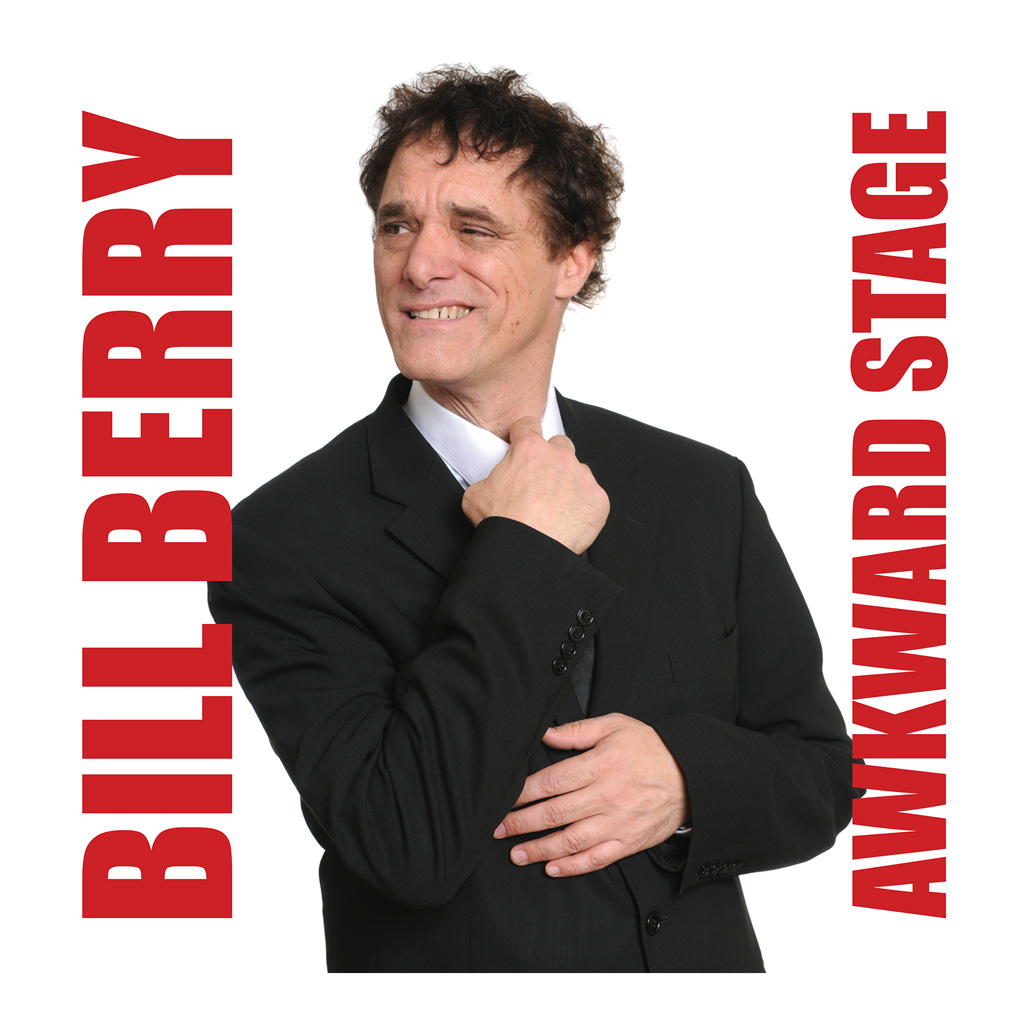 CD cover art Bill Berry Awkward Stage with photo of Bill Berry