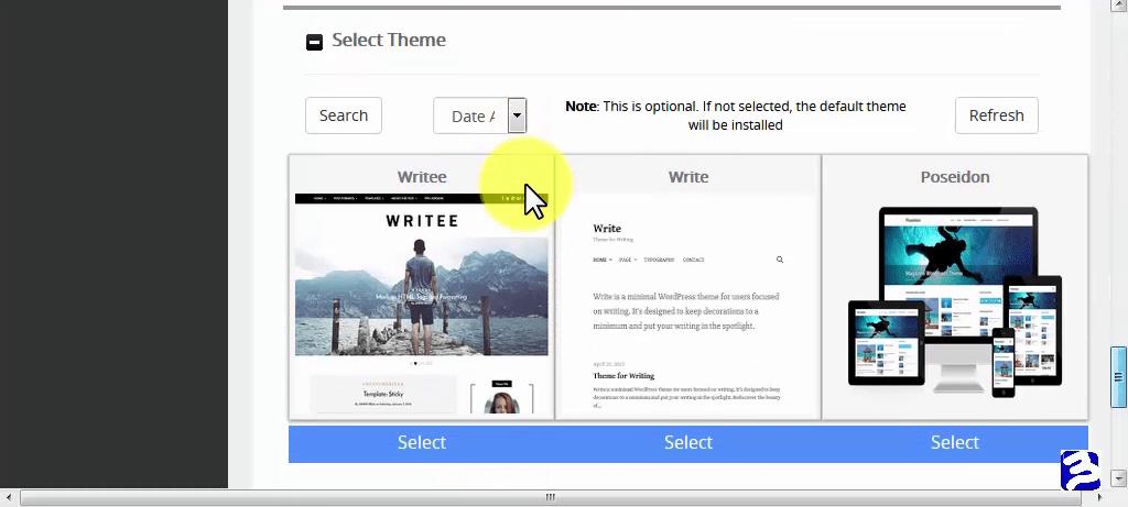How to Start A WordPress Blog on Qservers_SelectTheme16