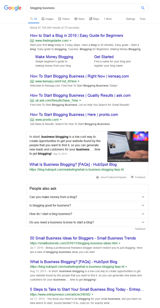 blogging_business_Google Search_How_to_Achieve _Professionalism_in _Blogging