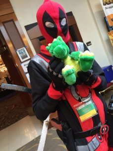 Kind of hard to imagine a con without a Deadpool