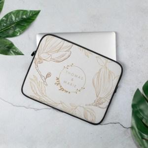 Custom Name Laptop Sleeve