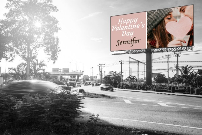 Valentines Billboards