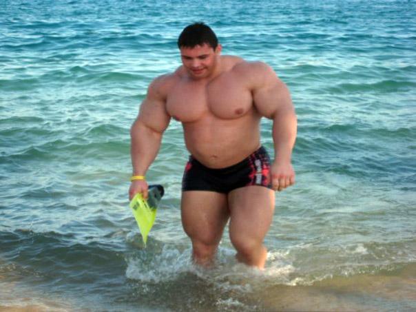muscle gain visualization