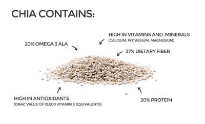 Chia Seeds Benefits