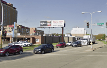 Should a billboard hold up development?