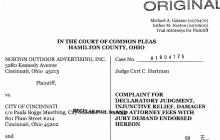 Judge Could Rule on Cincy Billboard Tax Friday
