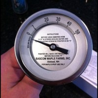 Sugaring 2013–Calibrating My Syrup Thermometer