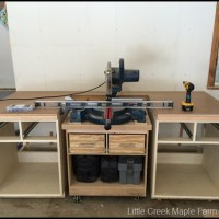 Garage Work Shop Storage – Counter Tops!