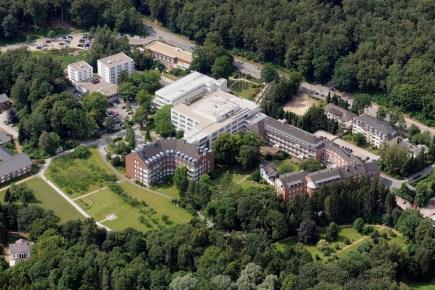 Krankenhaus Reinbek von oben