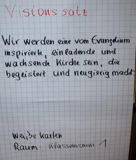 Visionstext - Satz 1