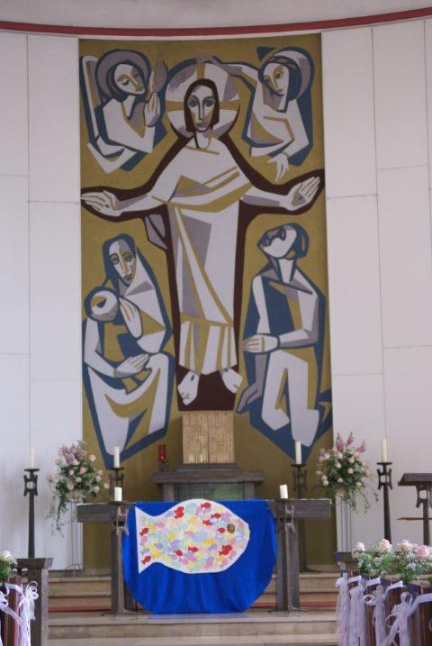 Herz Jesu Reinbek Altarbild