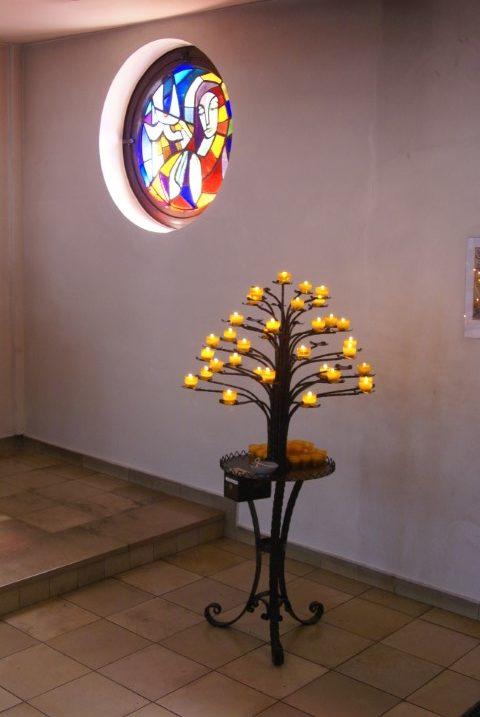 Herz Jesu Reinbek Kerzenbaum