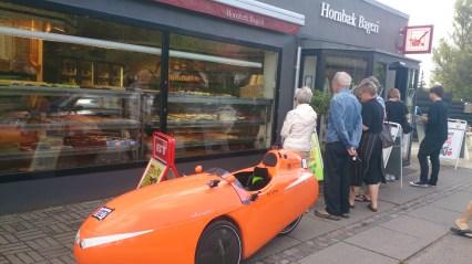 DR Tv optager noget ved bager i Randers