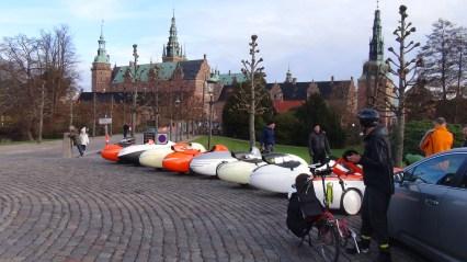 Velomobiler Frederiksborg slot