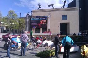 Giroen i Horsens Storskærm og Liggecykler