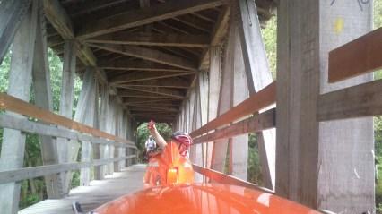 Hello Peter on the Bridge