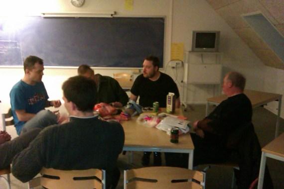 Hygge på Bråskovgård Efterskole