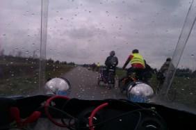 Lidt regn på vej mod Aalborg 2