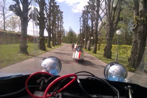 Liggecykelforeningen på vej til Horsens