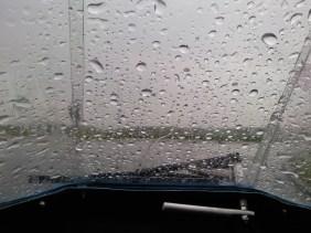 Mere-regn. godt at sidde tørt