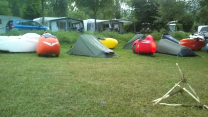 Morgen på camping ved Mosel floden (3)