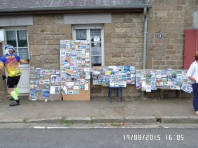 Pandekager for postkort