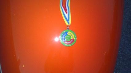 SBS 2013 Medaljen