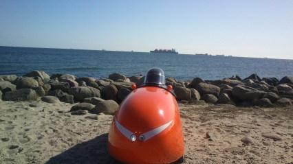 Skibe for anker ved Skagen