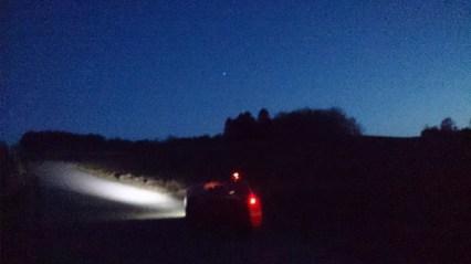 Strada in the dark
