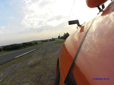 Pause i vejkanten