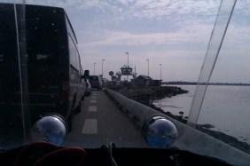 Venter på Færgen