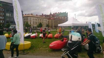 Göteborg cykelkulturkalas klar til turen til Marstrand (2)