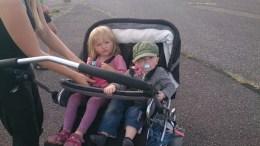 Aia og Tias Kommende velonauter :-)