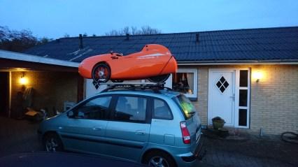 Klar til afgang til Odense