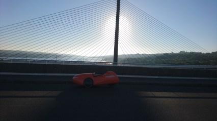 Pont Albert Louppe Brest med Strada i Skyggen
