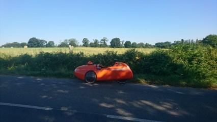 Strada pauser igen i skyggen Sens-de-Bretagne (1)