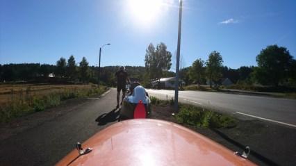 Afgang fra l Camping Meløstranda Holiday