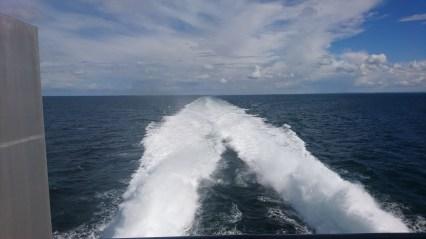 Afsted over vand med 37 knob