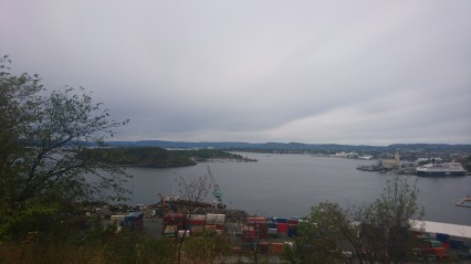 Op ad bakke ud af Oslo