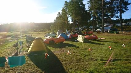 På Camping Meløstranda Holiday