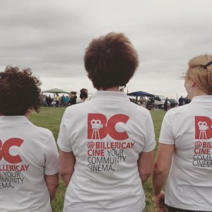 Fundraising ! Anne, Gillian, Emma - and Carol (taking the photo !) took part in the 2015 John Baron Fun Walk raising money for @BillericayCine.