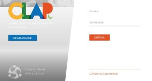 registro inscripcion clap.patri.org.ve