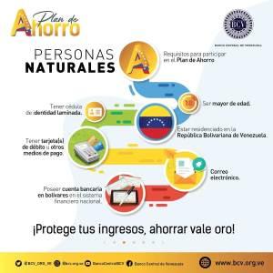 registro requisitos plan ahorro oro venezuela