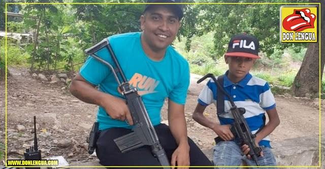 Niños venezolanos son entrenados como terroristas con armas de las FANB