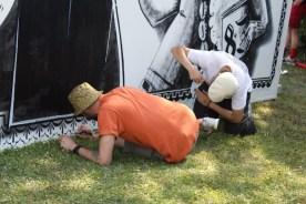 Artistes à l'oeuvre