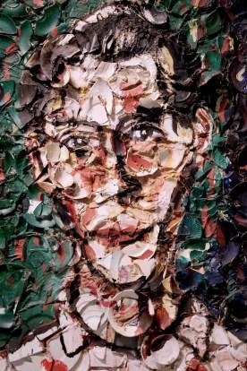 Julian Schnabel - Portrait de Bernard Picasso