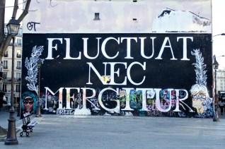 Fluctuat Nec Mergitur vers le Canal de l'Ourcq