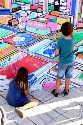 Graffiti atelier enfants
