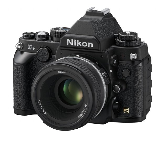 Nikon Df, a 16 MP, full-frame DSLR