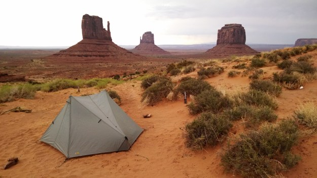 The View Campground at Monument Valley Navajo Tribal Park features campsites with million dollar views.
